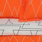 Постельное бельё 1,5 сп. Этель Люкс «Апельсин» 150×210 см, 150×220 см, 50×70 + 5 см - 2 шт, сатин, 100% хл, 130 г/м² - Фото 2