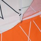 Постельное бельё 1,5 сп. Этель Люкс «Апельсин» 150×210 см, 150×220 см, 50×70 + 5 см - 2 шт, сатин, 100% хл, 130 г/м² - Фото 5