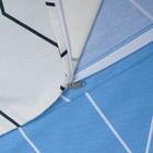 Постельное бельё 1,5 сп. Этель Люкс «Квандонг» 150×210 см, 150×220 см, 50×70 + 5 см - 2 шт, сатин, 100% хл, 130 г/м² - Фото 5