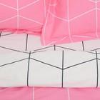 Постельное бельё 1,5 сп. Этель Люкс «Личи» 150×210 см, 150×220 см, 50×70 + 5 см - 2 шт, сатин, 100% хл, 130 г/м² - Фото 2