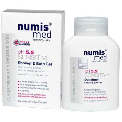 Гель для душа и ванны Numis Med Sensitive рH5,5, 200 мл - Фото 1