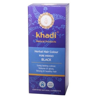 Краска растительная для волос Khadi, индиго, 100 г