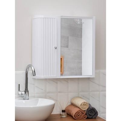 Набор для ванной комнаты Hilton Premium Left, цвет белый - Фото 1