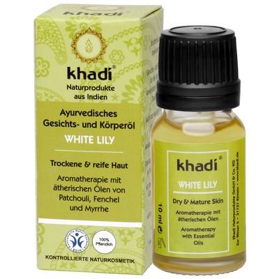 Масло для лица и тела Khadi «Белая лилия», 10 мл - Фото 1