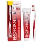 Набор Dr.Wild Emoform-F Protect: зубная паста, 85 мл + зубная щетка