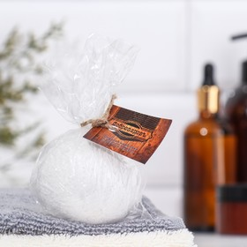 Шипучая бомбочка из персидской соли 'Добропаровъ' с эфирным маслом персика, 140гр Ош