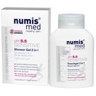 Гель для душа 2 в 1 Numis Med Sensitive pH 5,5 «Спорт» 200 мл