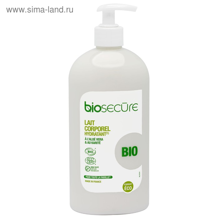 Молочко для тела Biosecure, 730 мл