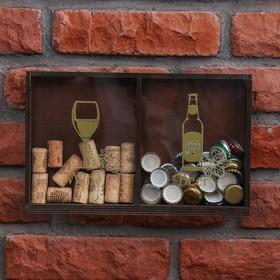 Копилка для пробок и крышек 'Wine, Beer' Ош