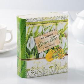 """Чай зеленый Книга """" Времена года"""" с жасмином"""