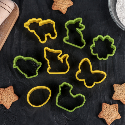 Набор форм для вырезания печенья Доляна «Празднование пасхи», 8 шт, цвет МИКС