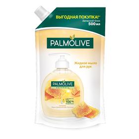 Жидкое мыло Palmolive Натурэль «Мёд и увлажняющее молочко», запасной блок, 500 мл