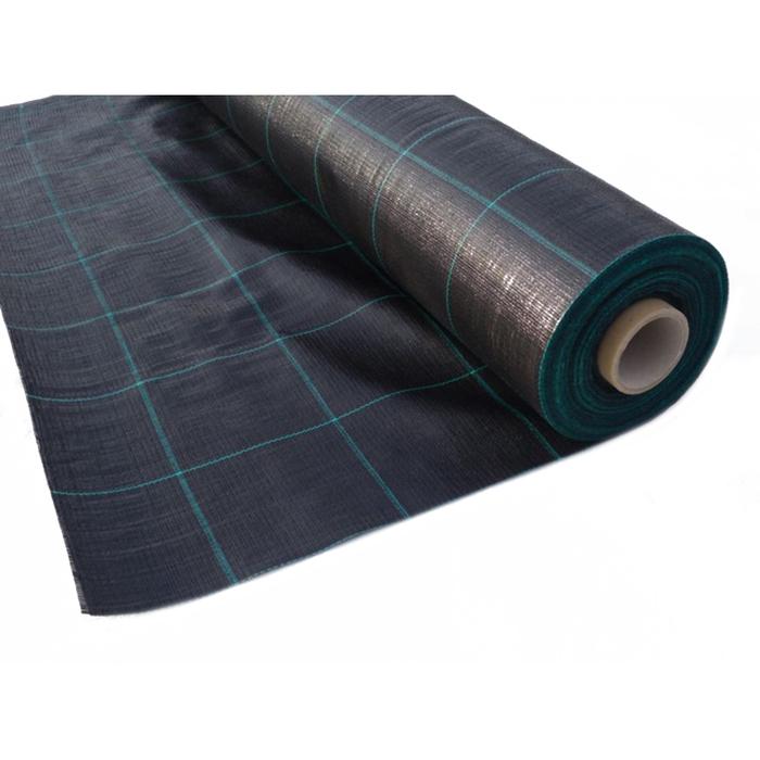 Агротекстиль Agrojutex, плотность 100 г/м², 1,65 × 100 м, цвет чёрный