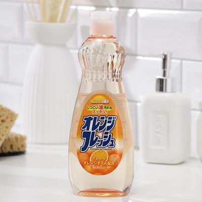 Жидкость для мытья посуды Rocket Soap Fresh «Свежесть апельсина», 600 мл - Фото 1