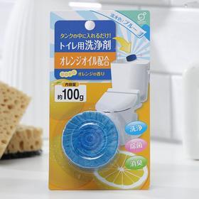Таблетка для сливного бачка Okazaki, с апельсиновым маслом, 100 г