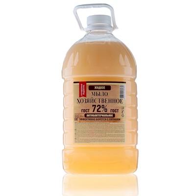 Жидкое мыло хозяйственное, 5 л. - Фото 1