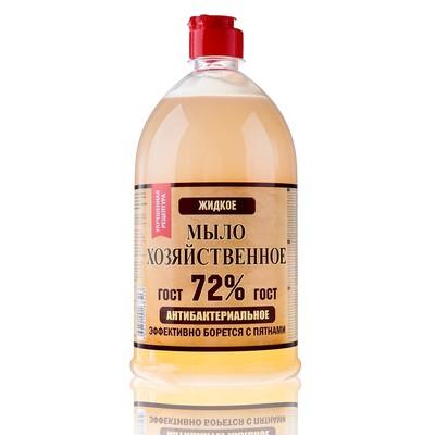 Жидкое мыло хозяйственное, 1 л. - Фото 1