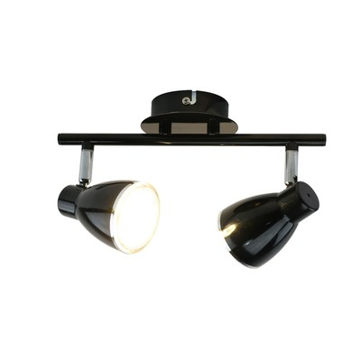 Светильник GIOVED 2x5Вт LED черный