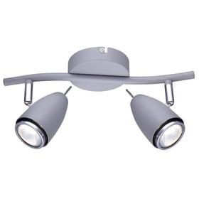 Светильник REGISTA 2x50Вт Gu10 серый