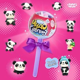 Игрушка на палочке «Чудо-сюрприз: панды» цвета пластика МИКС Ош