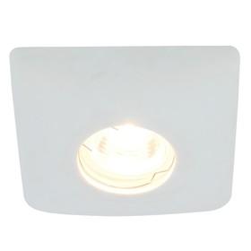 Светильник встраиваемый CRATERE, 50Вт, GU10, G5,3, d=12мм, цвет белый