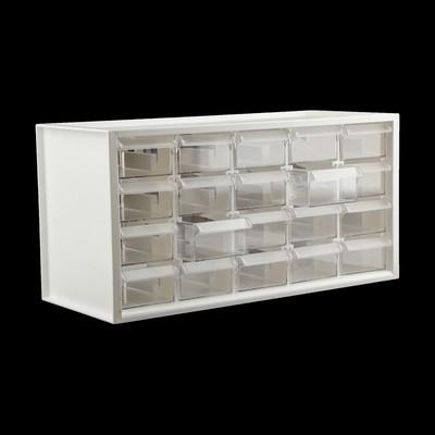 Ящик для фурнитуры Shuter, 38 × 20 × 15 см, пластик, белый
