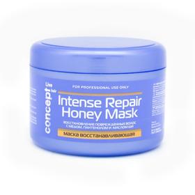 Маска восстанавливающая Concept с медом для сухих и поврежденных волос, 500 мл