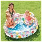 Бассейн надувной «Фрукты», 122 х 25 см, с кругом и мячом, от 2 лет, 59460NP INTEX - Фото 3