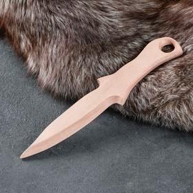 """Сувенирное деревянное оружие """"Нож"""", 29 х 6 см, массив бука"""