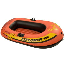 Лодка Explorer 100, 1 местная, 147 х 84 х 36 см, от 6 лет, до 55 кг, 58329NP INTEX Ош