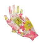 Перчатки нейлоновые, с нитриловым полуобливом, размер 8, цвет МИКС, Greengo - Фото 1