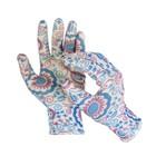 Перчатки нейлоновые, с нитриловым полуобливом, размер 8, цвет МИКС, Greengo - Фото 3