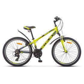 Велосипед 24' Stels Navigator-440, V030, цвет лайм, размер 13' Ош