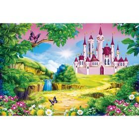 Фотобаннер, 250 × 150 см, с фотопечатью, «Сказочный замок» Ош
