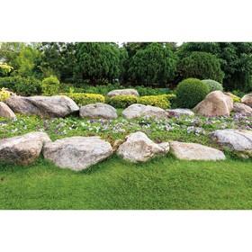 Фотобаннер, 250 × 150 см, с фотопечатью, «Каменный островок» Ош