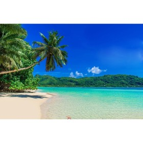 Фотобаннер, 250 × 150 см, с фотопечатью, «Пляж» Ош