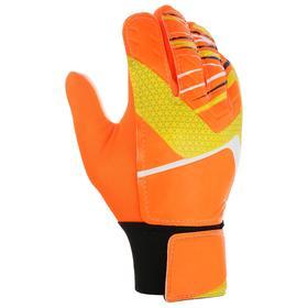 Перчатки вратарские, размер 10, цвет оранжевый Ош