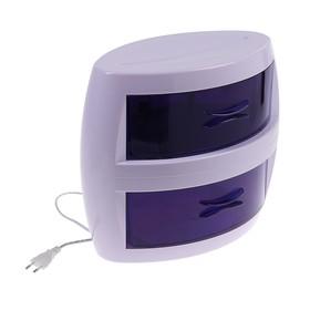Стерилизатор маникюрного инструмента LuazON LGS-03, ультрафиолетовый, 8 Вт, 2 отсека Ош