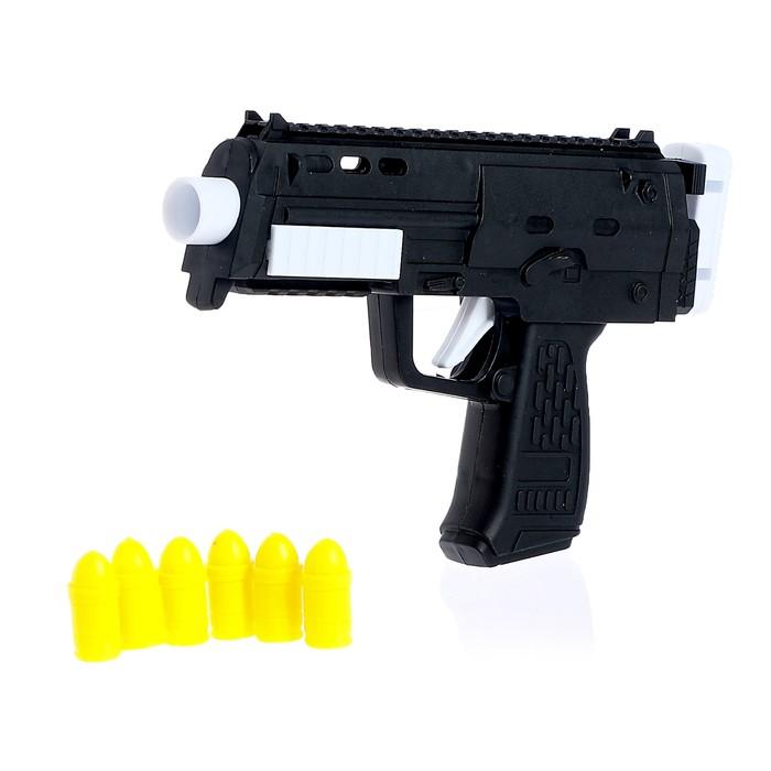 Автомат «Микро-Узи», стреляет силиконовыми пульками