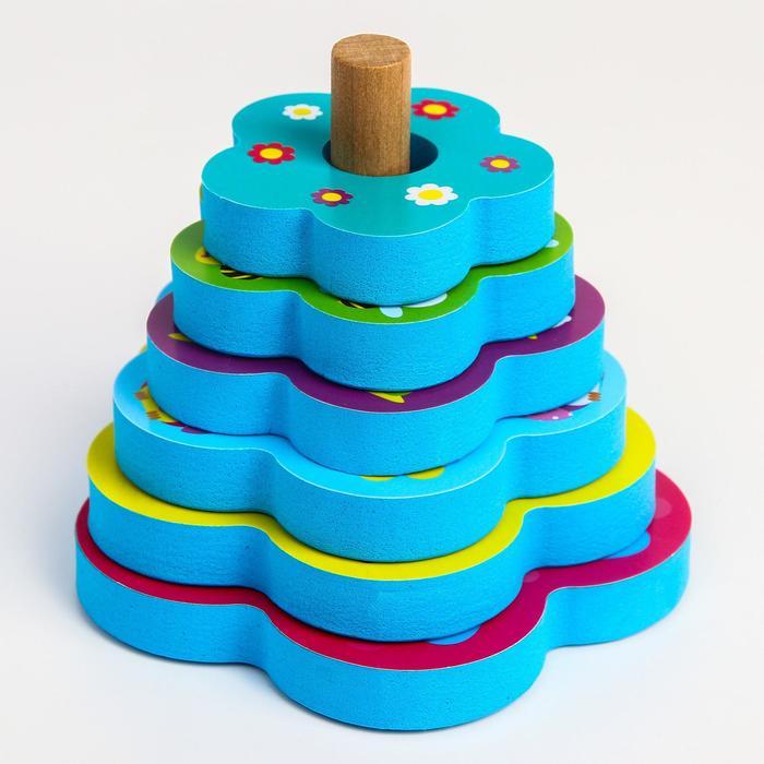 Игрушка - пирамидка для купания «Зверушки»