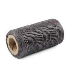 Нитки прошивочные, вощёные, 150D, толщина 0,55 мм, 200 м, тёмно-серые Ош