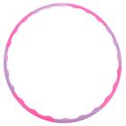 Обруч разборный, d=78 см, толщина 2,5 см, цвета МИКС
