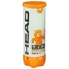 Набор мячей теннисных Head T.I.P Orange, цвет жёлтый
