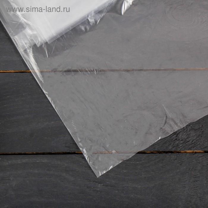 Плёнка полиэтиленовая, толщина 30 мкм, 3 × 5 м, рукав (1,5 м × 2), прозрачная, 1 сорт, ГОСТ 10354-82