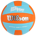 Мяч волейбольный Wilson Super Soft Play, WTH90119XB, размер 5, PVC, машинная сшивка