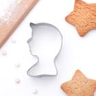 Форма для вырезания печенья 5,5x3,5x2 см