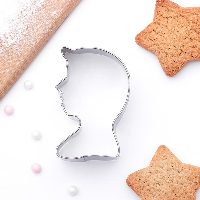 Форма для вырезания печенья 5,5x3,5x2 см Принц