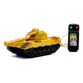 Танк «Тигр», на дистанционном управлении, цвета МИКС, в пакете Ош