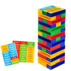 Настольная игра «Падающая башня, Фантазёры», в пакете - Фото 1