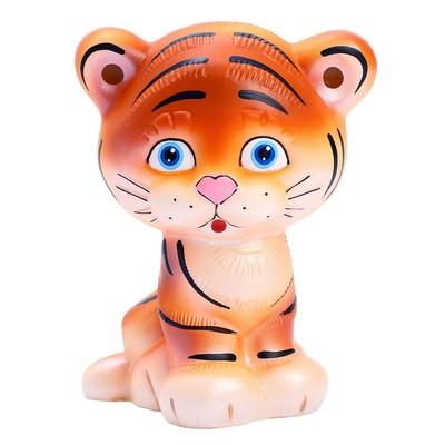 Резиновая игрушка «Тигр» - Фото 1